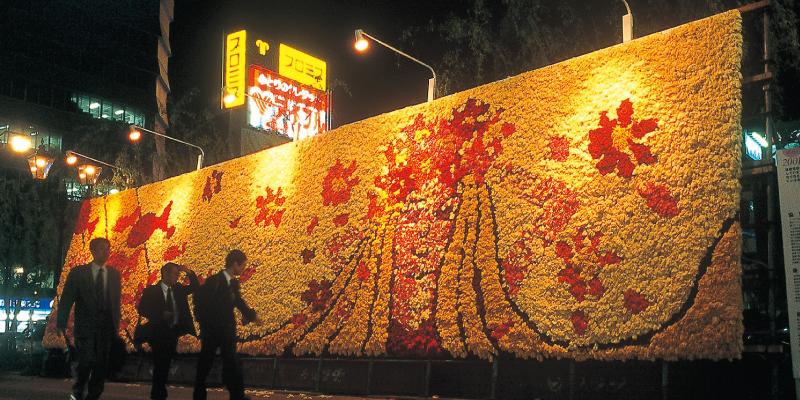 巨大花絵2001
