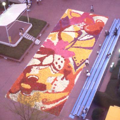 巨大花絵2003