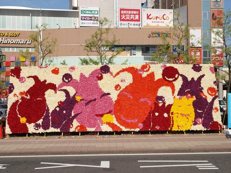 巨大花絵2009